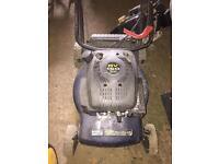 Small push mower