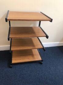Set of Shelves/ Desks on Wheels