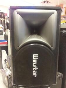 Winstar SP-580 DJ Speaker Pair (#43289) We sell used speakers and audio equipment. Buster's Brampton
