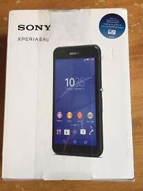 Sony Experia E4g. On O2. Brand New In Box. £60 o.v.n.o.