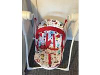 Graco baby swing - used once!!