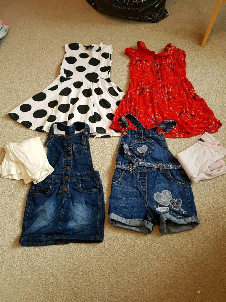 Girls clothes are 4-5