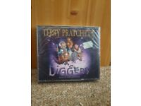 Audiobook CD Terry Pratchett 'Diggers' ** Read by Tony Robinson *Brand new*
