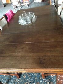 Extra large oval dining table for sale