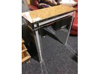 Lovely mirrored console table-unused