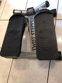 Twist stepper adjustable exercise machine - please reconnect if required
