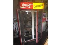 Coca Cola fridge incubator
