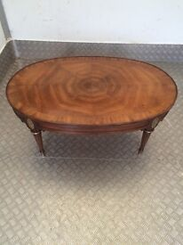 Beautiful Ornate Antique Coffee Table. Excellent Overall Condition.