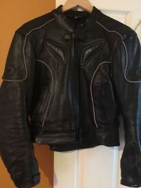 Buffalo leather jacket 16