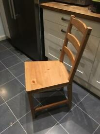 Basic Dining Chairs x 4
