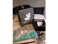 Deliveroo Bag and Jacket - New