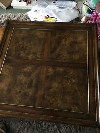 Large lovely oak coffee table