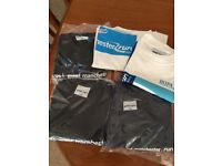 5 running event t-shirts, all large, never worn, brand new