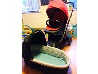Oyster Pushchair and Prince with accessories