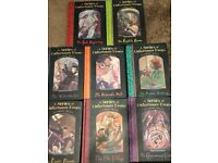 Lemony Snicket - A Series Of Unfortunate Events books