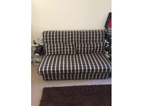 Large double futon, great condition, but needs to make way for a cot!