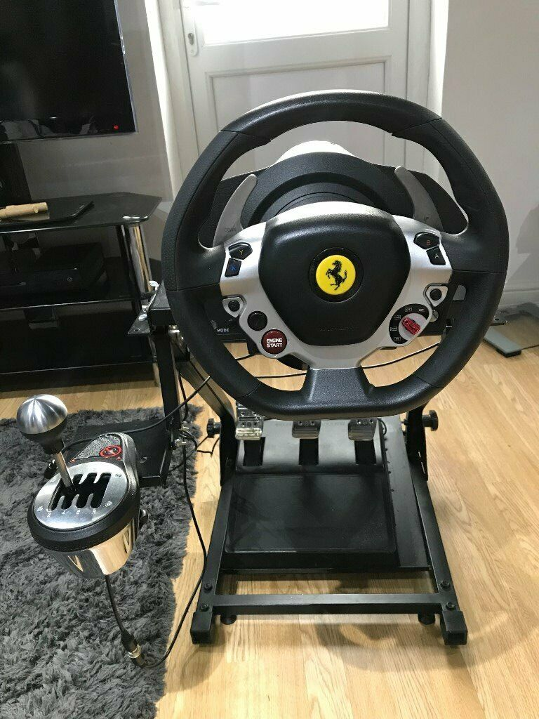 Thrustmaster TX Ferrari 458 T3PA Pedal, TH8A Shifter and Wheel Stand Sim  Racing | in Heathrow, London | Gumtree