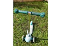 Ride and Glide tri Scooter - Blue by ELC