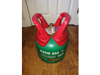 5 KG PATIO GAS Full Not Used