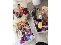 Bratz dolls and dress up