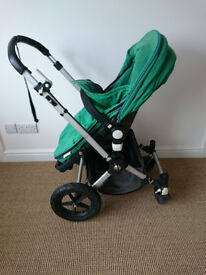 Bugaboo Cameleon 1st Generation Pram and Buggy with rain cover and car seat adaptors