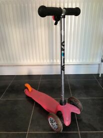 Mini Micro Scooter - Pink