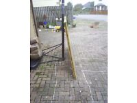 7 used wooden fence panels 6'x4'. £12.50 each.