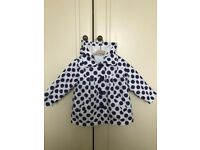 Girls age 12-18 months spring / summer Miniclub coat