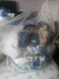 3 bags off baby boy clothes for sale