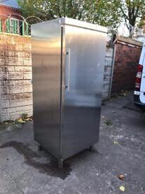 Very good condition full working order commercial stainless steel fridge only £350 bargains price