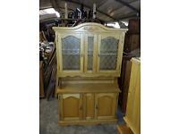 kitchen dresser,cabinet oak effect. newry