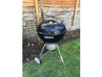 Weber® Master-Touch™ 57cm GBS™ Black Charcoal BBQ