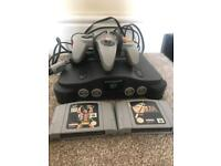 Nintendo 64 TWO games