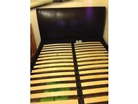Bed frame with/ without mattress