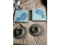 Blueprint front + rear brake discs for toyota and lexus