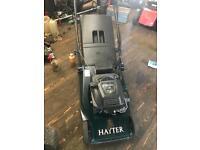 Hayter Harrier 48 electric start roller mower