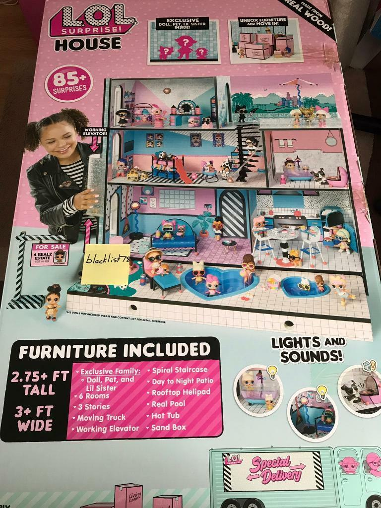 Lol Surprise Doll House New And In Stock In Hendon London Gumtree