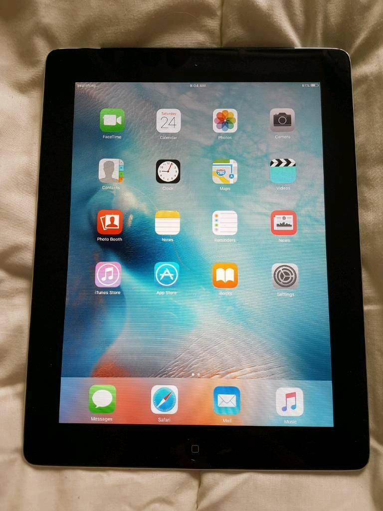 Apple iPad 2 32gb WIFIin Cheadle, StaffordshireGumtree - Used but in good condition, working perfectly battery hold last,2 small dents on the corner but nothing major. No charger Return accepted within 7 days upon receipt.Screen and back are clean no scratchessCall/sms 07955273777