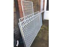 Security window gates