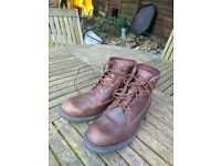 Nearly New Brown Timberland Boots