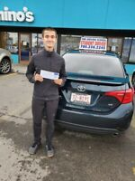 """""""DRIVING LESSONS-FREE CAR FOR ROAD TEST, FREE P/U, D/O"""
