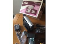 Compact vhs camcorder