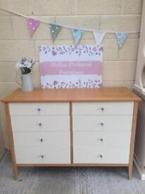Large excellent quality, very heavy, chest of drawers