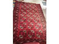 Large antique carpet / rug