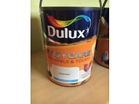 Dulux easycare washable and tough Matt paint - goose down- 5l