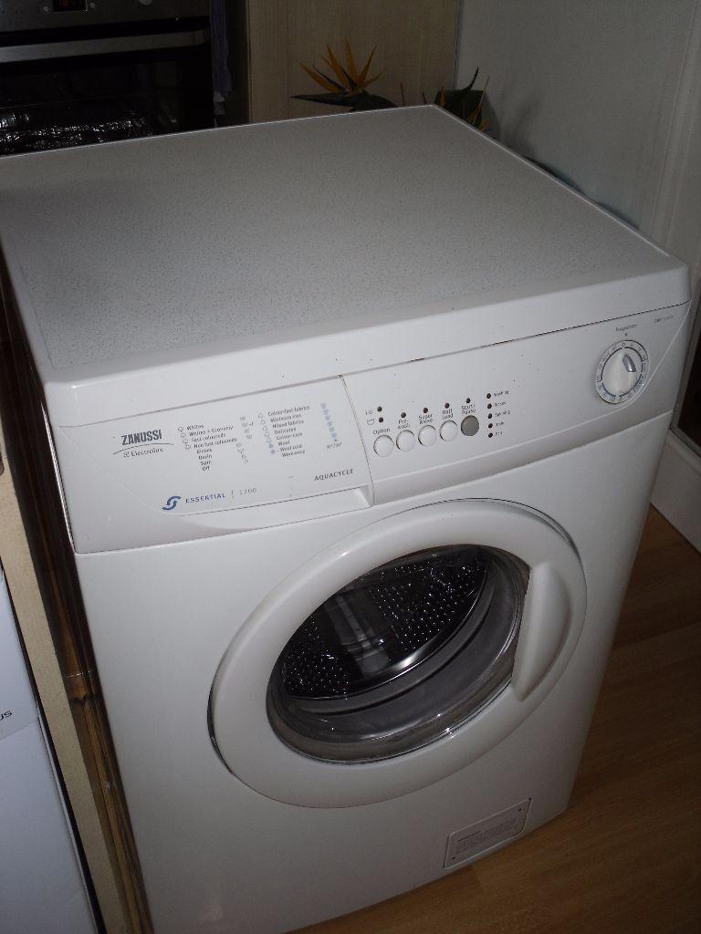 instruction manual for zanussi washing machine