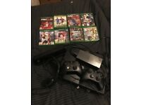 Day one edition Xbox one console and games, 2 controllers and triton headphones