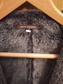 Adolfo dominguez mens stylish fur jacket like mulberry