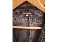Adolfo dominguez mens stylish fur jacket like mulberry