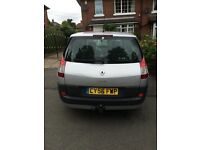 Renault grand scenic 7 seater with tow bar